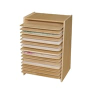 Wood Designs Mobile Drying and Storage Rack