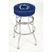Imperial NCAA 30'' Swivel Bar Stool with Cushion; Penn State