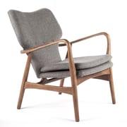 dCOR design Carlo Arm Chair; Grey