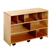 Childcraft Mobile Block Storage Cabinet