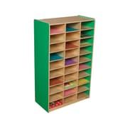 Wood Designs Mailbox Storage Center; Green Apple