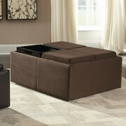 Woodhaven Hill Kaitlyn Cocktail Ottoman