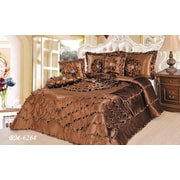 Tache Home Fashion Waterfall 6 Piece Comforter Set