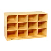 Korners Toddler 12 Compartment Cubby w/ Casters