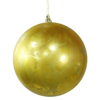 Vickerman Foil Finish Ball Ornament (Set of 3); 10'' H x 10'' W x 10'' D