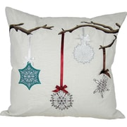 Xia Home Fashions Limb Ornament Accents Throw Pillow; Feather Fill