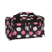 Rockland 19'' Carry-On Duffel; Multi Pink Dot