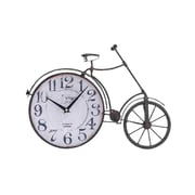 Woodland Imports Metal Bicycle Quartz Standing Clock
