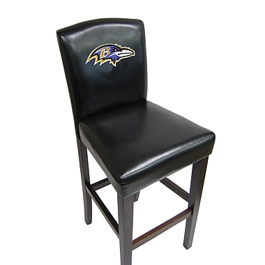 Imperial NFL 29.5'' Bar Stool (Set of 2); Baltimore Ravens