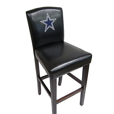 Imperial NFL Bar Stool with Cushion (Set of 2); Dallas Cowboys