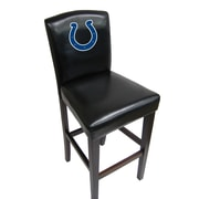 Imperial NFL Bar Stool with Cushion (Set of 2); Indianapolis Colts
