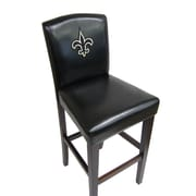 Imperial NFL Bar Stool with Cushion (Set of 2); New Orleans Saints