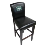 Imperial NFL Bar Stool with Cushion (Set of 2); New York Jets