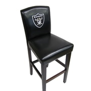 Imperial NFL 24'' Bar Stool (Set of 2); Oakland Raiders