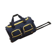 Rockland 22'' Travel Duffel with Shoulder Strap; Navy