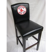 Imperial MLB 24'' Bar Stool with Cushion (Set of 2); Boston Red Sox
