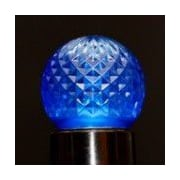 Queens of Christmas LED Light Bulb (Pack of 25); Blue