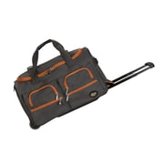 Rockland 22'' Travel Duffel with Shoulder Strap; Charcoal