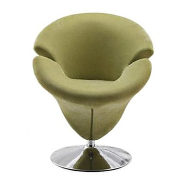 Ceets Tulip Leisure Papasan Chair; Green