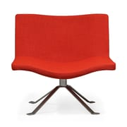 Ceets Vivian Lounge Chair; Red Pepper