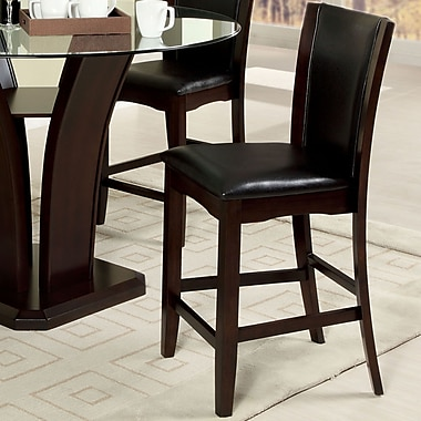 Hokku Designs Uptown 25.5'' Bar Stool with Cushion (Set of 2)