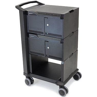 Ergotron DM32-1004-1 Tablet Management Cart, 32 with ISI