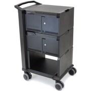 Ergotron DM32-1004-1 Tablet Management Cart, 32 with ISI