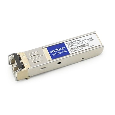AddOn Cisco SFP-GE-S Compatible 1000Base-SX SFP Transceiver