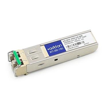 AddOn Juniper Networks EX-SFP-1GE-LH Compatible 1000Base-ZX SFP Transceiver