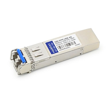 AddOn Brocade 10G-SFPP-LRM Compatible 10GBase-LRM SFP+ Transceiver