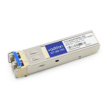 AddOn Finisar FTLF8524P2BNL Compatible 1/2/4Gbs Fibre Channel SW SFP Transceiver