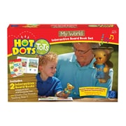 Educational Insights Hot Dots® Tots My World Interactive Board Book Set 2333