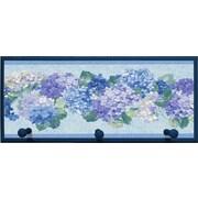 Illumalite Designs 'Blue Hydrangea Bunches' Plaque with Pegs