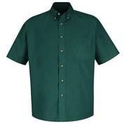 Red Kap Men's Meridian Performance Twill Shirt SS x 6XL, Emerald