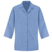 Red Kap Women's Smock 3/4Sleeve RG x 3XL, Light blue