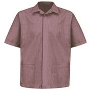 Red Kap  Men's Pincord Shirt Jacket SS x 3XL, Burgundy pincord