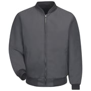 Red Kap  Men's Solid Team Jacket RG x 5XL, Charcoal
