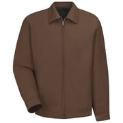 Red Kap  Men's Slash Pocket Jacket RG x 5XL, Brown