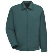 Red Kap  Men's Slash Pocket Jacket RG x L, Spruce green
