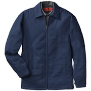 Red Kap  Men's Perma-Lined Panel Jacket LN x 3XL, Navy