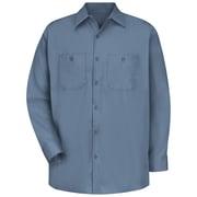 Red Kap Men's Cotton Work Shirt RG x 4XL, Postman blue