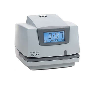 Pyramid™ 3500 Time Clock and Document Stamp