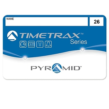 Pyramid™ TimeTrax 41303 Time & Attendance System Swipe Cards, #26 - 50