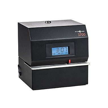 Pyramid™ 3700 Heavy-Duty Time Clock & Document Stamp