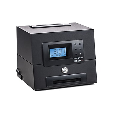 Pyramid™ 5000HD Heavy Duty Auto Totaling Time Clock