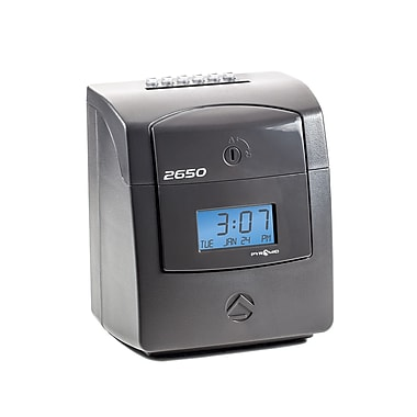 Pyramid™ 2650 Six Column Time Clock