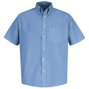 Red Kap Men's Easy Care Dress Shirt SS x 4XL, Light blue