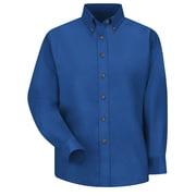 Red Kap Women's Poplin Dress Shirt RG x 24, Royal blue