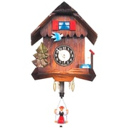 Black Forest Carved Chalet Wall Clock