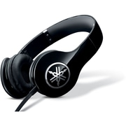 Yamaha HPH-PRO300BL High-Fidelity On-Ear Headphone with Mic, Black